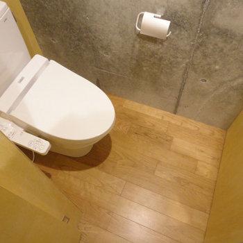 トイレももちろん綺麗。 ※写真は5階の同間取り別部屋のものです