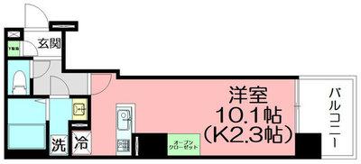 A-FLAT HIRATSUKAの間取り