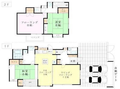 East House Kichijojiの間取り