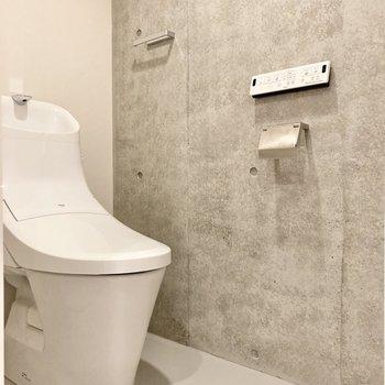 こちらのトイレもきれいです。