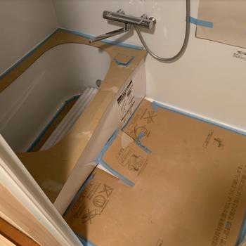 ちなみに今のお風呂がこんな感じ!リューアル済みで水栓はきれいです!