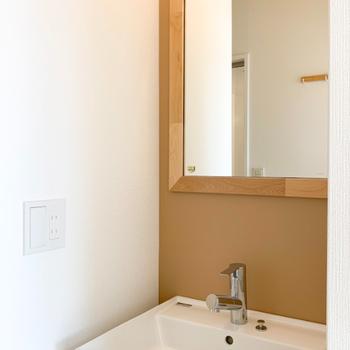【イメージ】洗面台はTOMOSオリジナルのものが入ります!