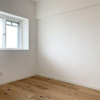 4.7帖のお部屋。寝室でも作業部屋にも使えそうです。