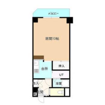 生活のしやすい1Kのお部屋です。