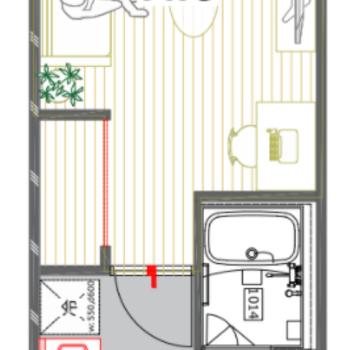 使いやすそうなお部屋です。
