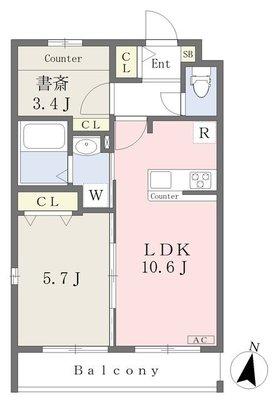 (仮)西東京市南町4丁目新築計画の間取り