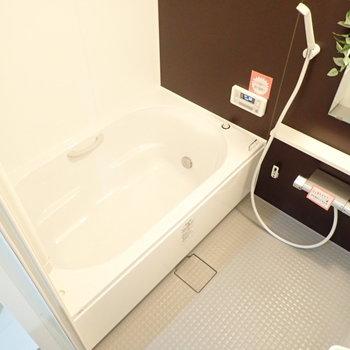 浴室乾燥機&追い焚き機能つきです!やったー!