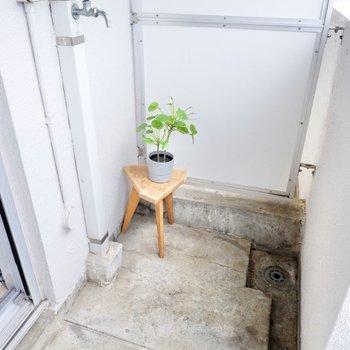 洗濯機置場はこちら。