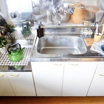 しっかりとしたコンロを用意すれば、本格的な調理もスイスイ!