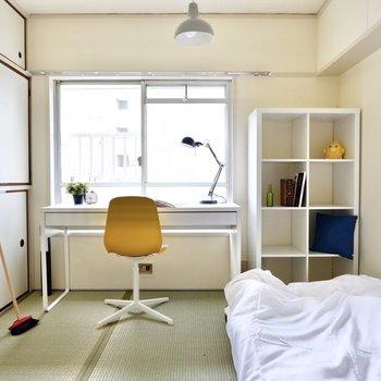 【和室③】もう一室は子供部屋など個人の私室として。