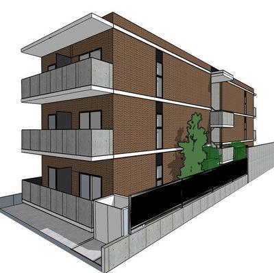 仮称)姪浜駅南マンション新築工事の間取り