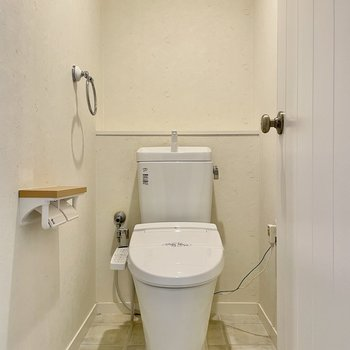 トイレのドアノブがかわいすぎる!