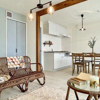 ヴィンテージ家具のように、素敵な年を重ねたいね。