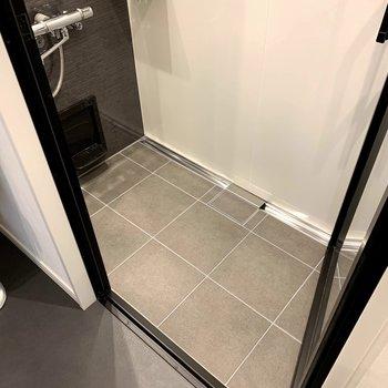 洗い場スペースもしっかり確保されていますね。