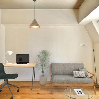 家具が配置しやすい間取り※別部屋同間取り、家具はイメージです