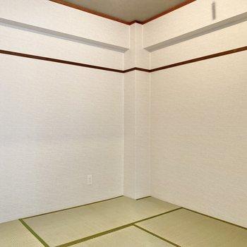 【和室】4.5帖の和室。お布団をしいて寝室にしようかな。