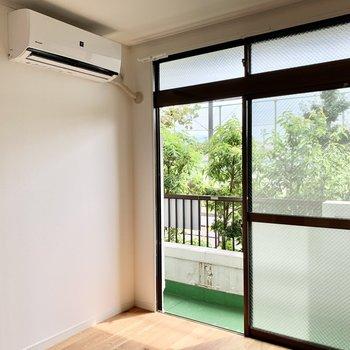 【洋室】エアコンは2部屋についています◎