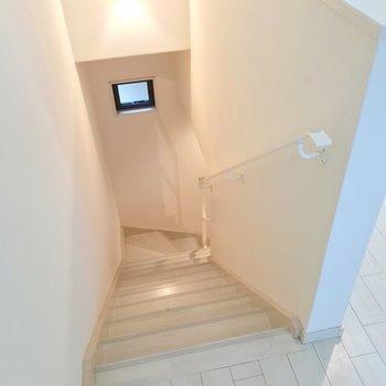 1階に降りてみましょう。(※写真は反転間取り別部屋のものです)