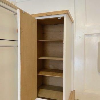 シューズボックスは小さめです。 ※写真は2階の別部屋のものです