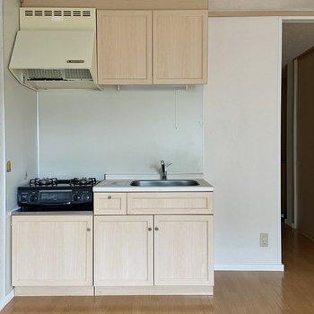 キッチンを見てみましょう。