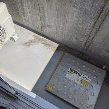 洗濯物をバルコニーで干すことができます。
