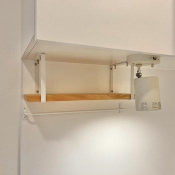 【イメージ】吊り戸下にブラケット棚も設置します◎