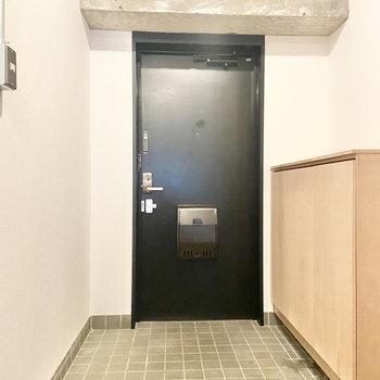 玄関も余裕のある広さです。
