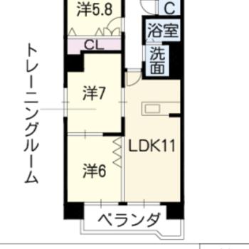 広々3LDKのお部屋です。
