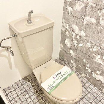 サニタリールームの隣にはトイレ。