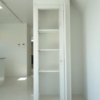 リビングにある収納です※写真は3階の同間取り別部屋のものです