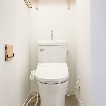 【イメージ】トイレのディテールにもうっとり。