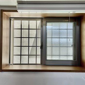 小窓で換気もしっかり◎