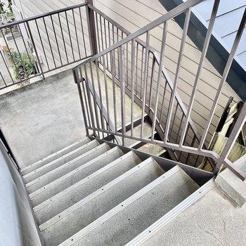 【共有部】エレベーターはないので3階までは階段です。
