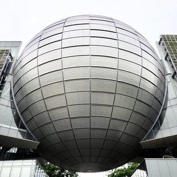 【周辺】お部屋の目の前は名古屋市科学館!白川公園でお散歩も楽しめます◎