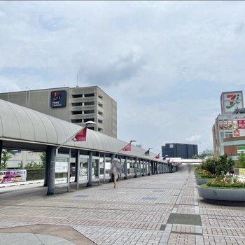 駅前にはいくつかの商業複合施設やアウトレットパークなどもあり日々のお買い物には便利な環境が整っています。