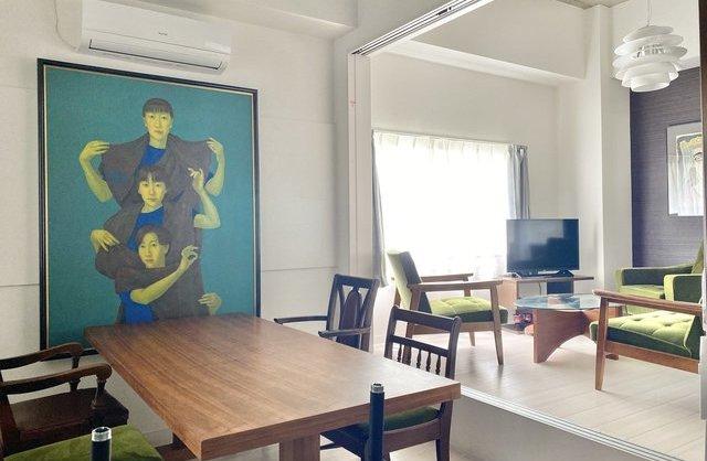 アパートメント横川荘の内観
