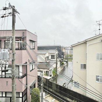眺望は落ち着いた住宅街。