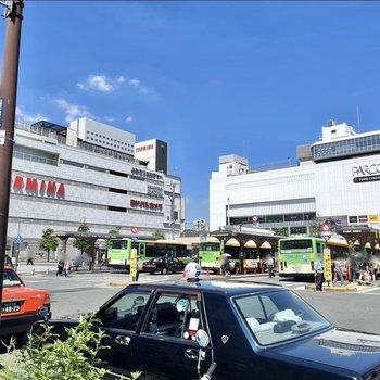 駅前にはいくつかの商業複合施設もあり、日々のお買い物には便利な環境が整っています。