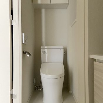 トイレと脱衣所は同室になります。