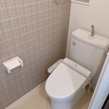 トイレはウォシュレットつき。