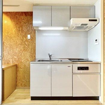 冷蔵庫スペースはちゃんと確保されています。