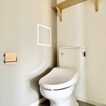 イメージ】トイレも新品で清潔感UP