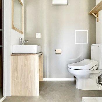 イメージ】トイレと洗面台が近いのはご愛嬌
