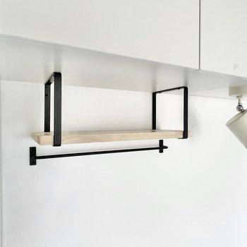 イメージ】キッチンにはこんなかわいい棚もついてます