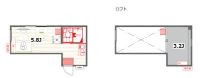 ドリームハウス向ヶ丘遊園第五【TOMOS】の間取り