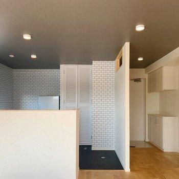【LDK】キッチンも開放的。※写真は前回募集時のものです