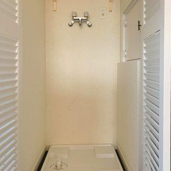 洗濯機置き場はキッチンに。※写真は前回募集時のものです