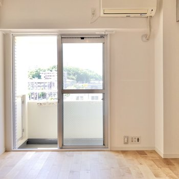 【イメージ】ベランダ側の洋室は寝室として。