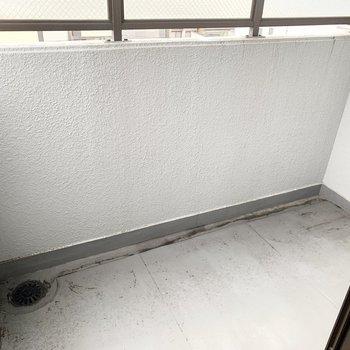【洋6.5】実はこちらの洋室、ベランダ付なんです。ちょっと一服コーナーでも、秘密の花園スペースでも。(※写真は5階の同間取り別部屋のものです)