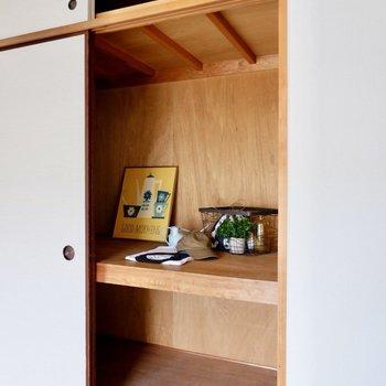 【玄関隣の和室】持ち物が多い方でも安心なのがポイントです。